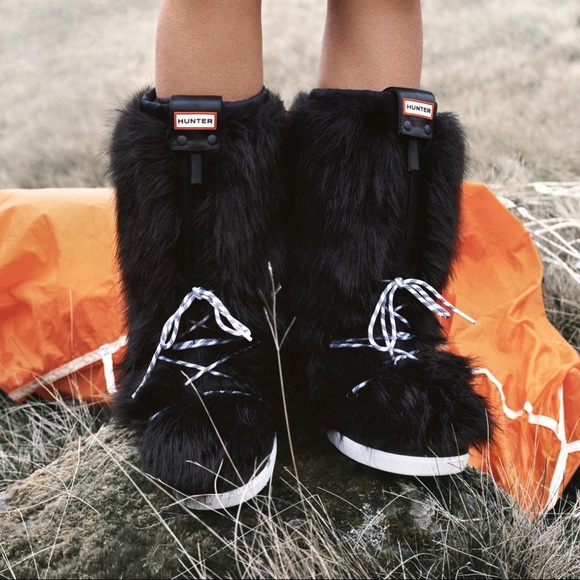 Hunter Shoes - HUNTER Snow Original Faux Fur Boot